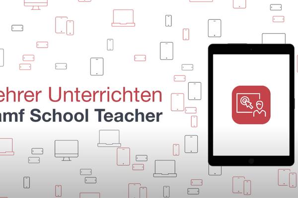 App-Anleitung: Jamf School Teacher   Jamf