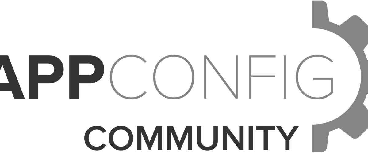AppConfig Community founding member