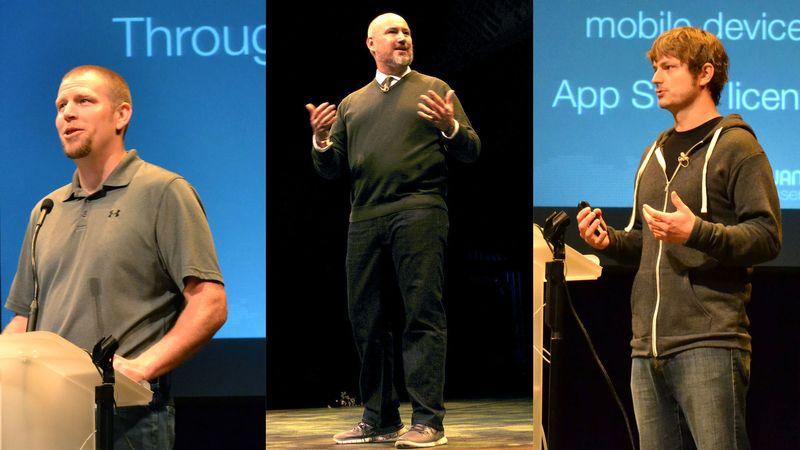 The 2013 JAMF Nation User Conference keynote kicks off