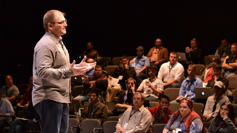 Miles Leacy talks about scripting at the 2013 JAMF Nation User Conference