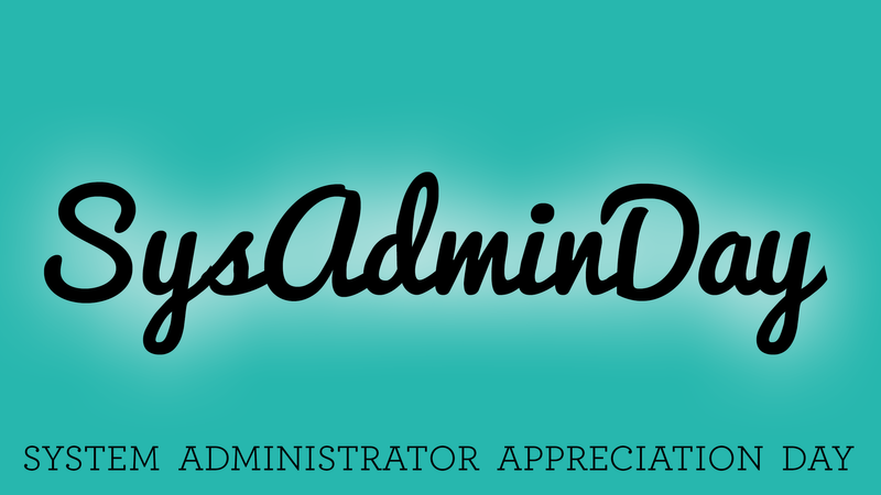 We're celebrating System Administrator Appreciation Day at JAMF Software