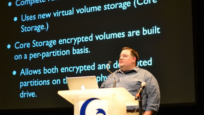 Rich Trouton discusses FileVault 2 disk encryption management with the Casper Suite - 2013 JAMF Nation User Conference