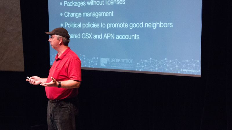 JAMF Nation User Conference 2014 - Avoid the 'Gotchas' of Enterprise Cloud Distribution in Education
