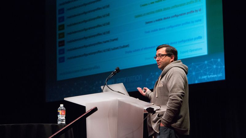 JAMF Nation User Conference 2014 - The JSS API and Custom Workflows