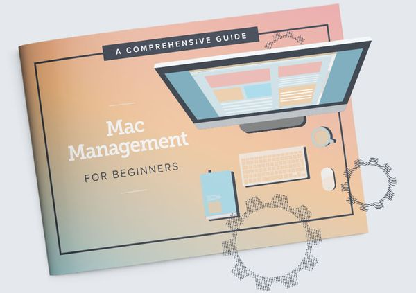 Mac Management for Beginners cover