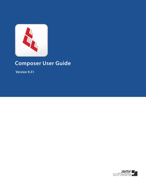 Composer 9.31 User Guide