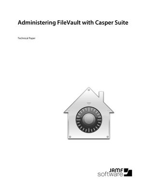 See how to easily administer FileVault with the Casper Suite.