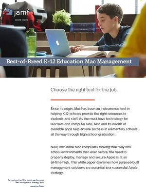 Best-of-Breed K-12 Education Mac Management | Jamf