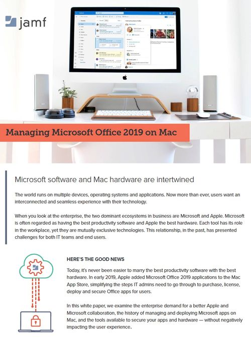 Managing Microsoft Office 2019 on Mac | Office for Mac | Mac